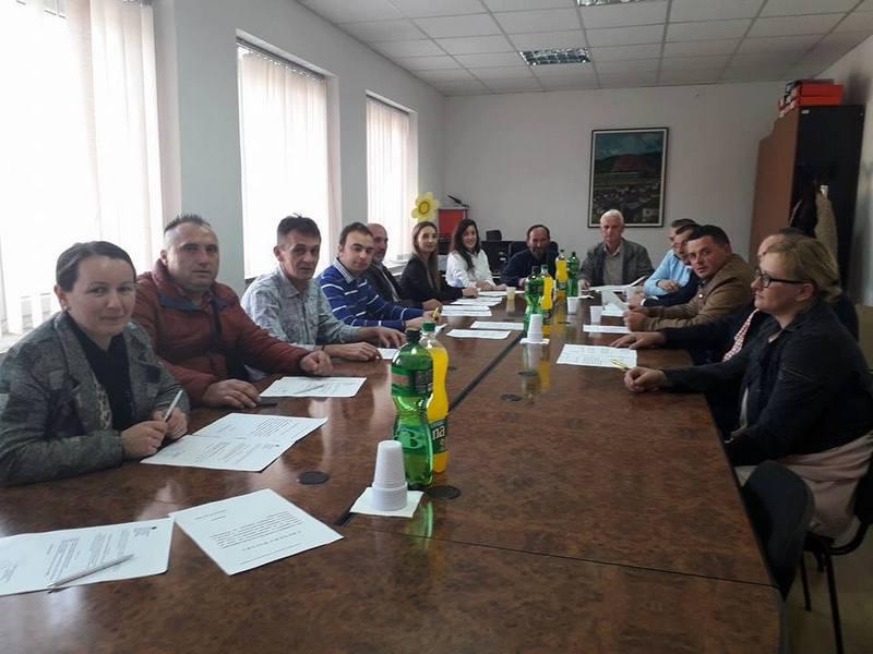 Одржана конститутивната седница на советот на општина Дебрца