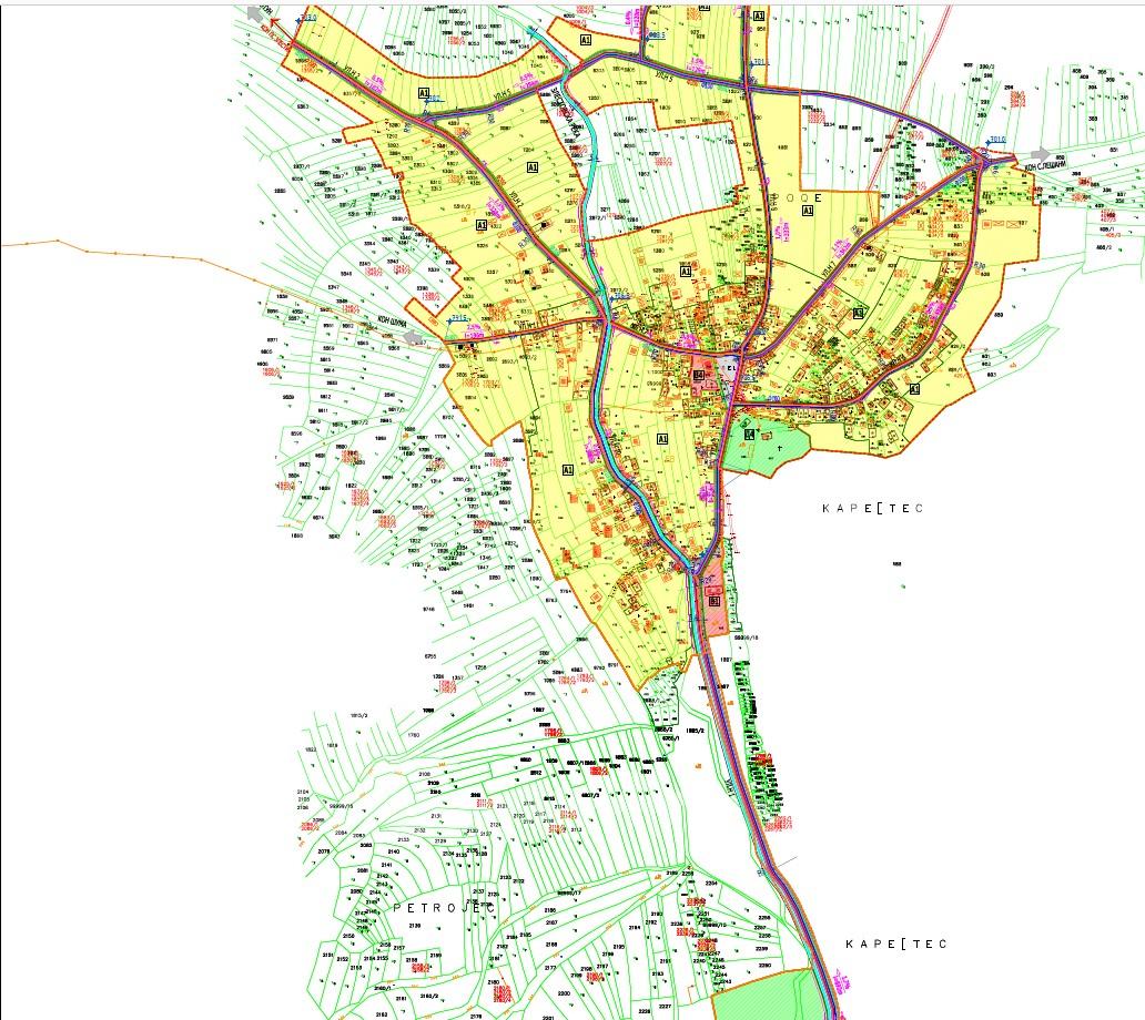 Соопштение: Јавна анкета и јавната презентација по Предлог – Урбанистичкиот план за с. Злести