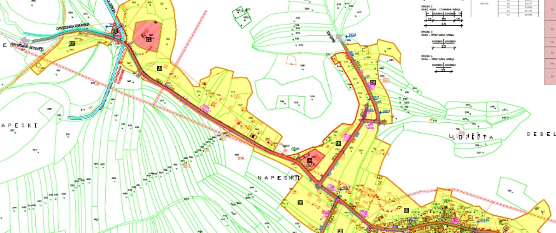 Соопштение: Јавна анкета и јавна презентација по Предлог – Урбанистички план за с. Црвена Вода, Песочани, Г. Средорече, Слатино, Велмеј