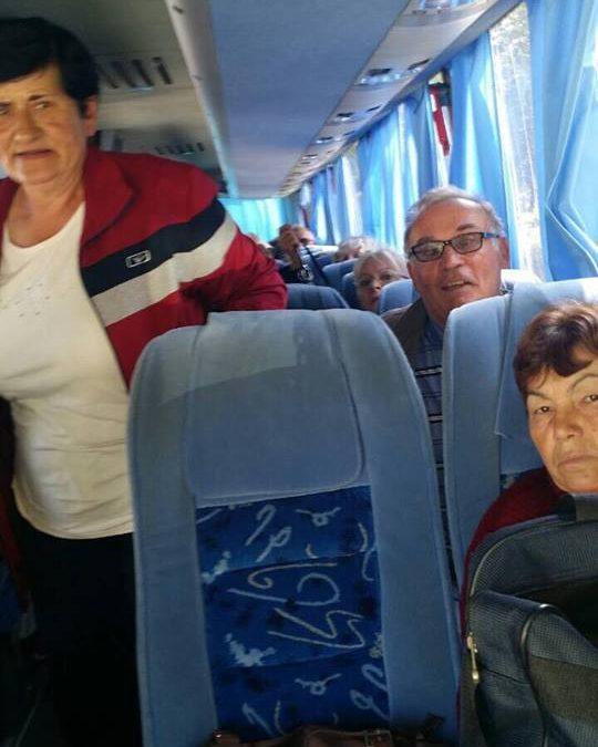 Финансиска поддршка за еднодневни туристички патувања на пензионерите од Општина Дебрца