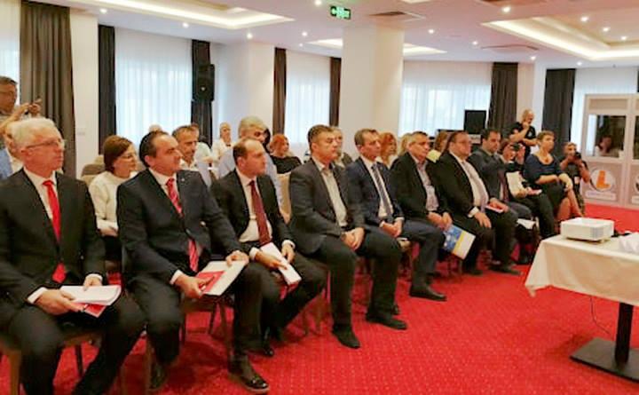 Градоналачникот Ногачески учествуваше на трилатерална средба во Охрид