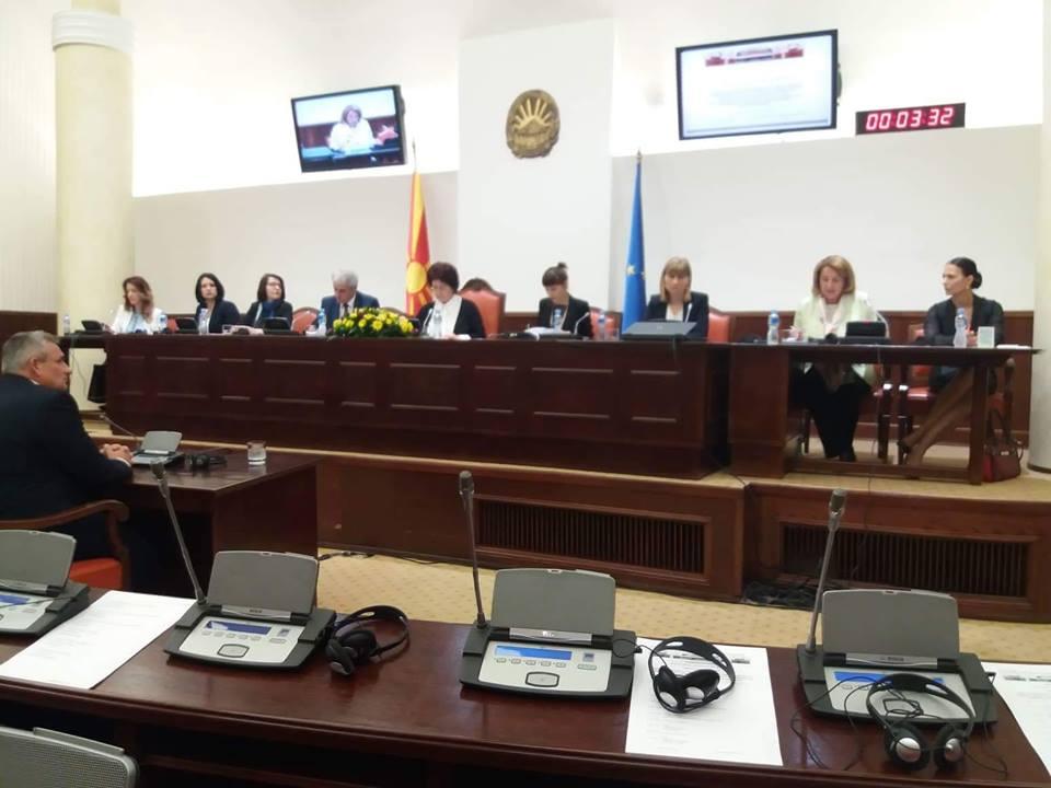 Градоначалникот Ногачески со исказ пред Надзорната расправа на Комисијата за култура