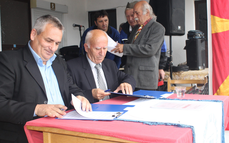 Потпишан Меморандум за соработка помеѓу општина Дебрца и З.П Охрид и Дебрца