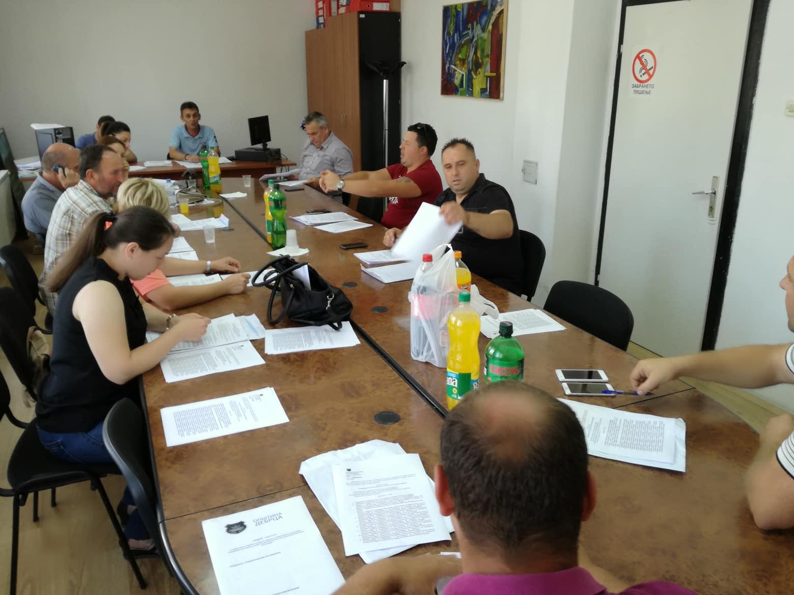 Закажана 14-та седница на Советот на општината Дебрца