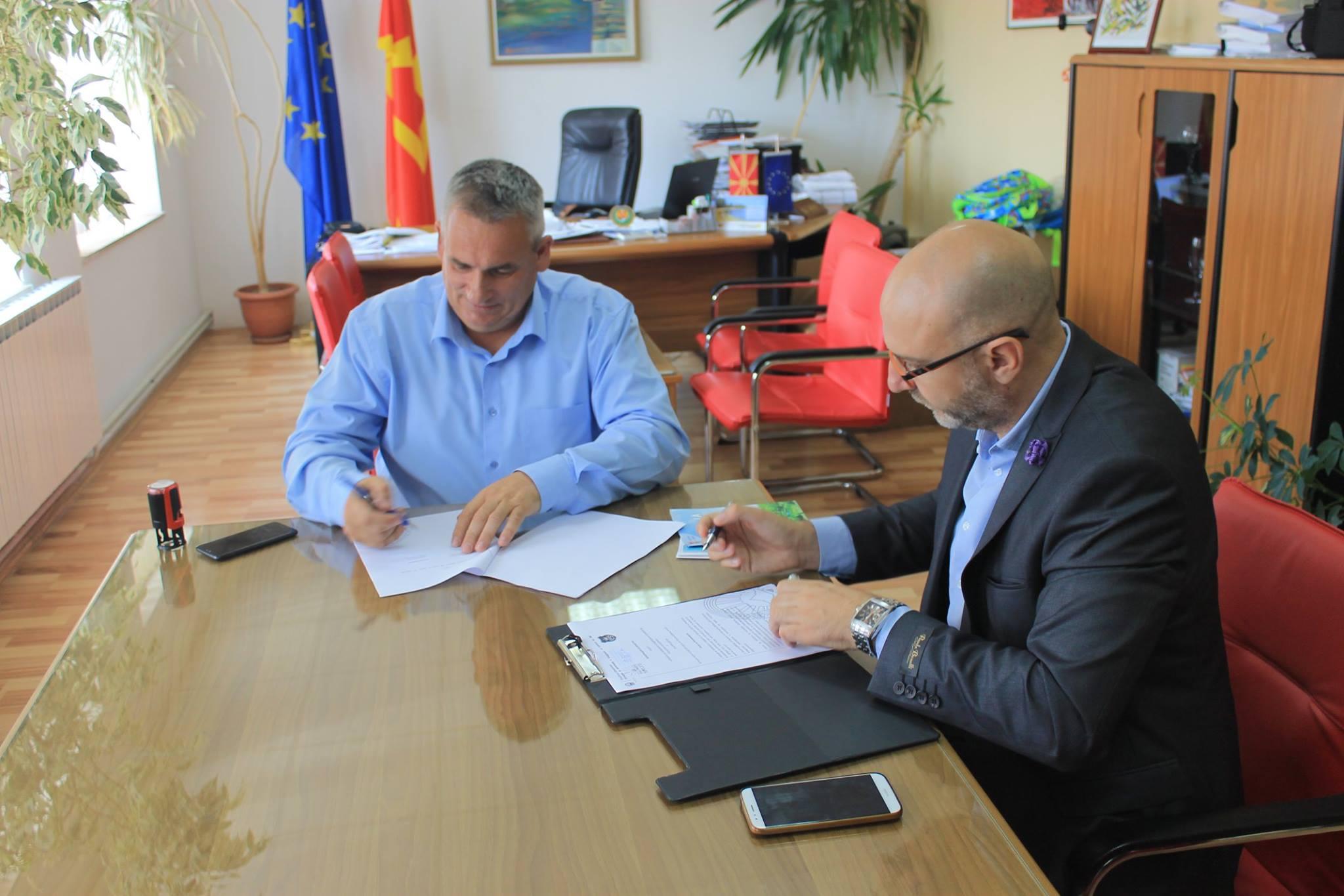 Потпишан Меморандум за соработка помеѓу општина Дебрца и Агенцијата за промоција и поддршка на туризмот на Република Македонија