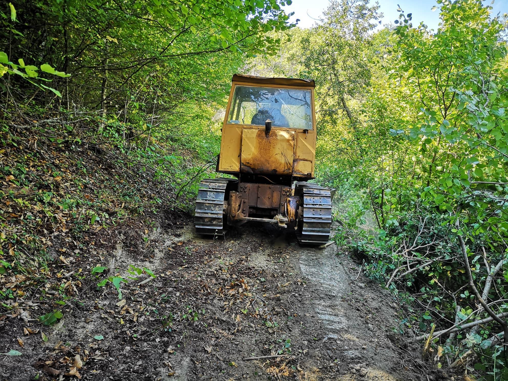 """Се пробива патот до археолошкиот локалитет """"Требенишкото Кале"""""""