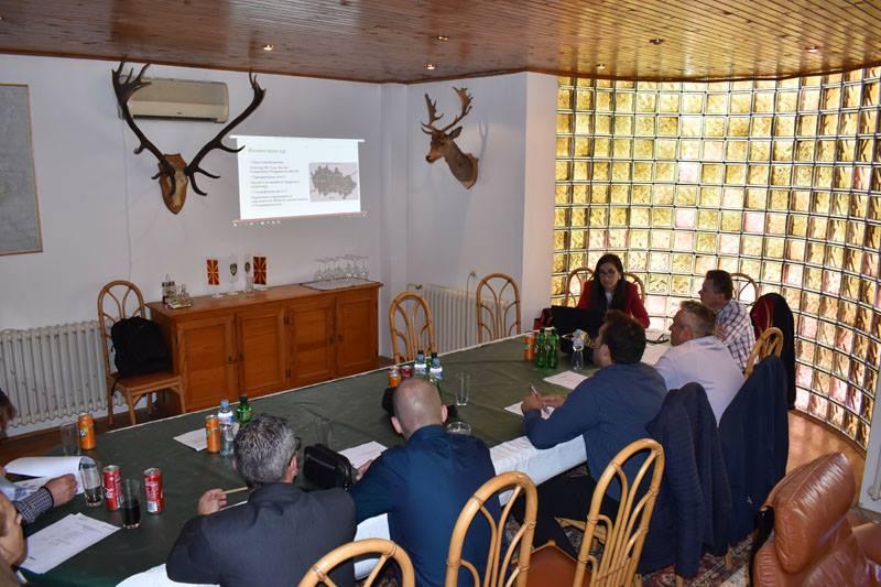 """Почеток на проектот """"Подобрување на конзервацијата на приоритетните растенија во меѓу-граничната област Македонија-Грција""""."""