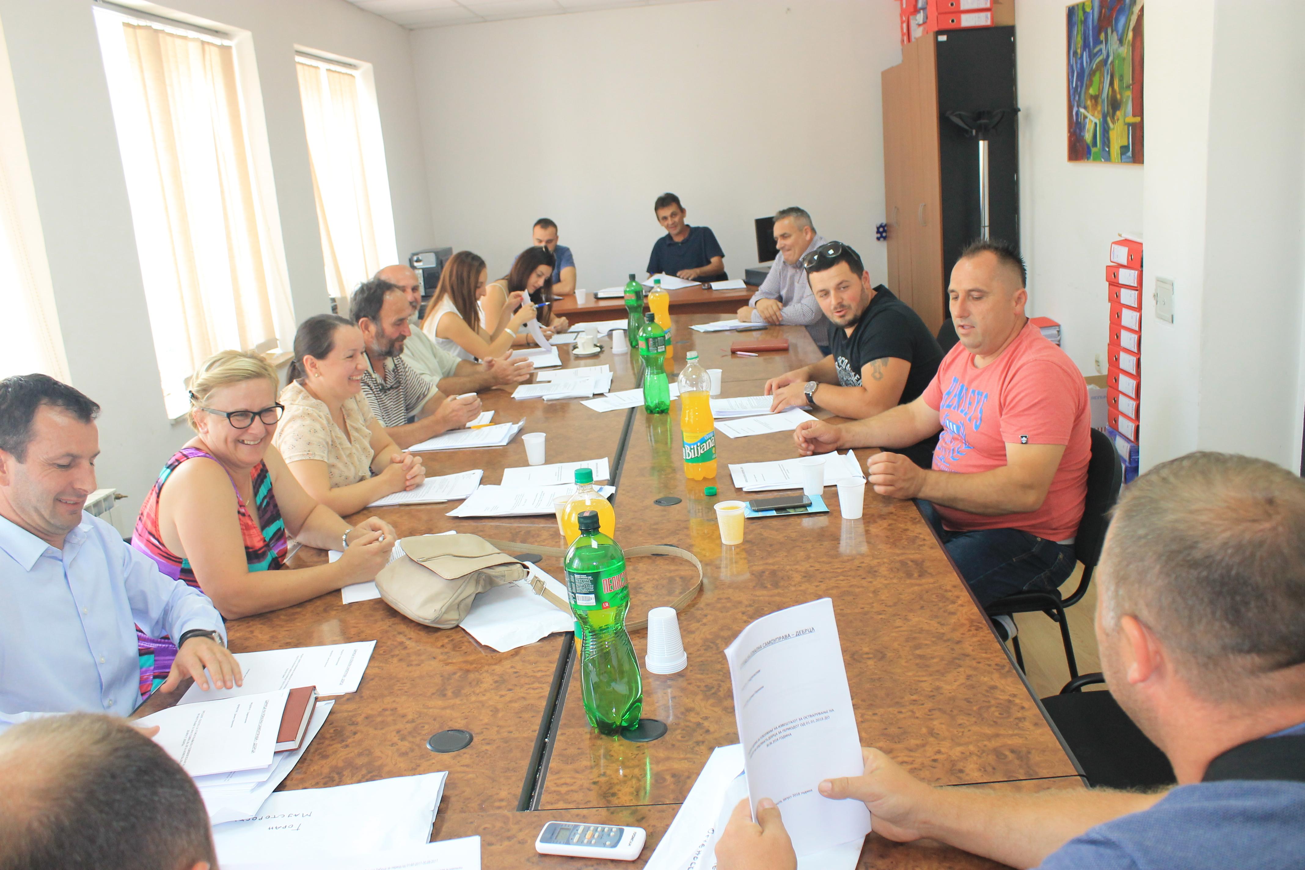 Закажана 23-та седница на Советот на општината Дебрца