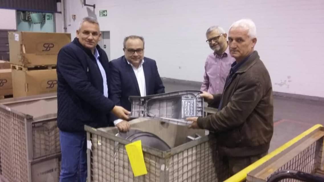Ногачески ја посети фабриката Вулкан во Хановер