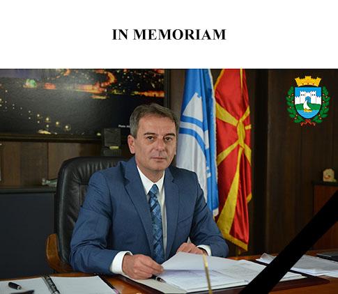 Градоначалникот Ногачески издрази жалење за смртта на градоначалникот Стојаноски
