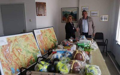 """Општина Дебрца додели нагледни средства и наставни помагала за основното училиште """"Дебрца"""""""