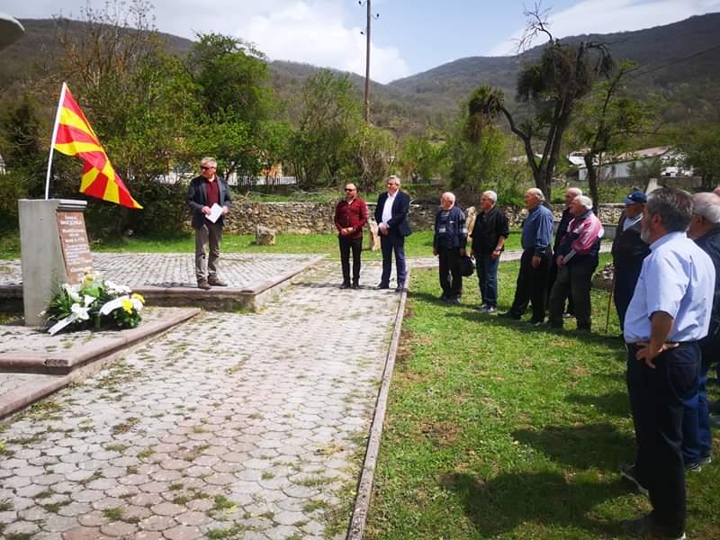 Во Слатино оддадена почит кон Игор Костоски и неговите соборци, загинати во масакрoт кај Вејце