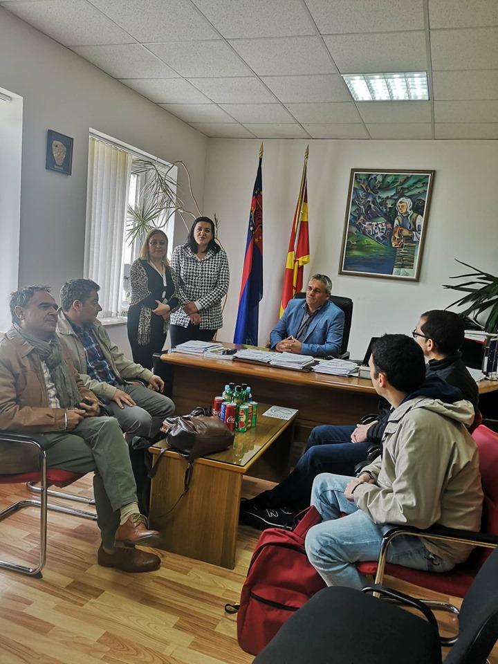 Градоналникот Ногачески домаќин  на учесниците од Еразмус+ програмата