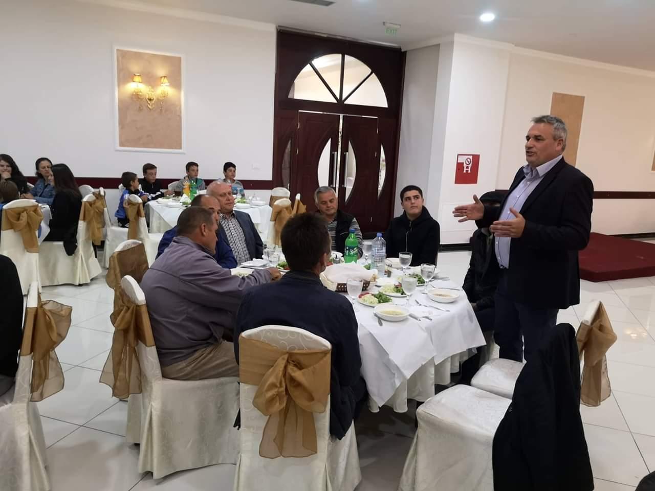 Градоначалникот Ногачески и претседателот на советот на општина Дебрца приредија Ифтарска вечера