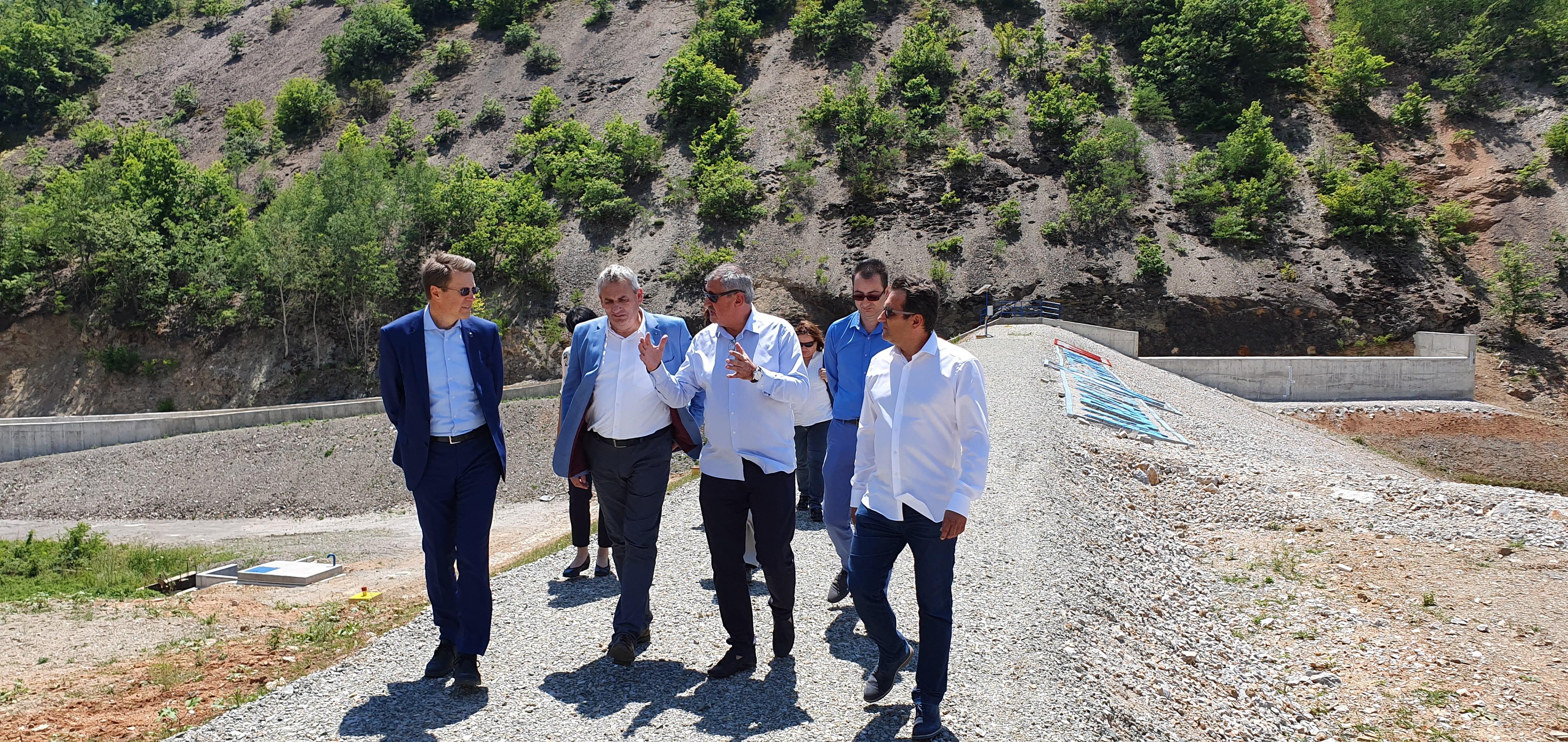 """Промовиран проектот """"Санација на браната на Слатинско Езеро"""""""