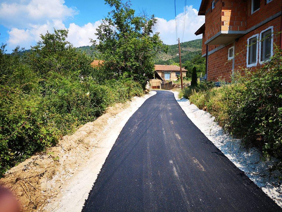 Реконструкција на патниот правец село Злести-село Белчишта