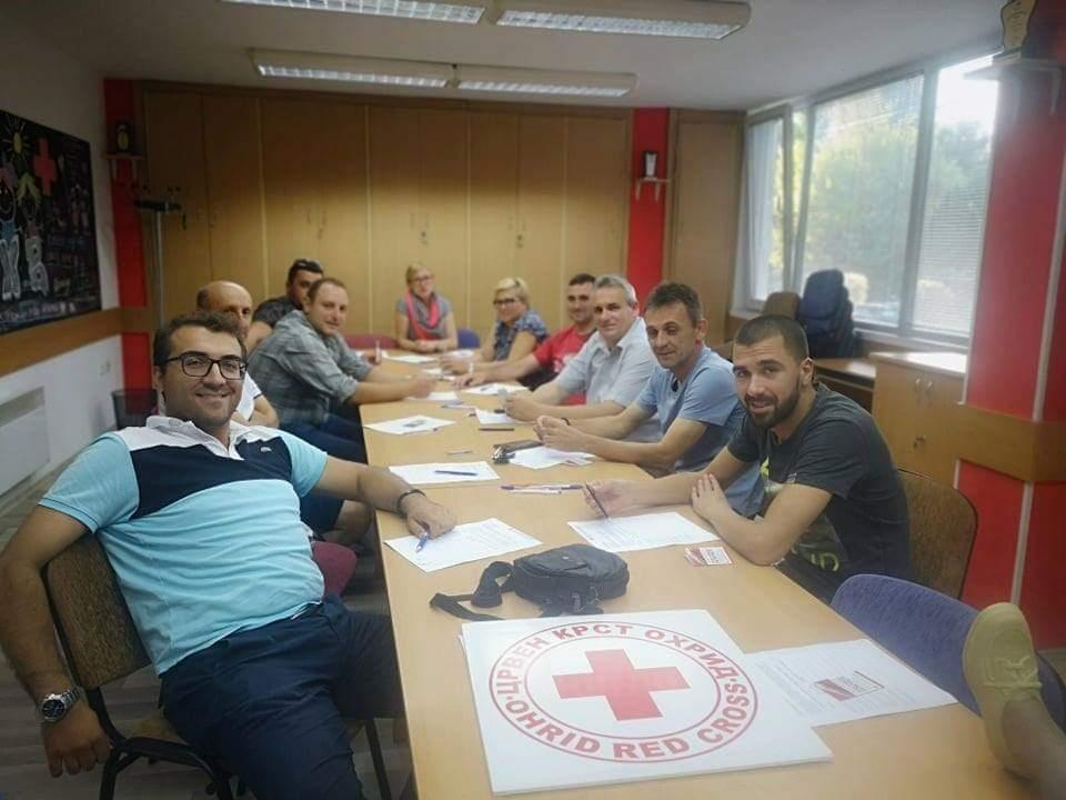 Општина Дебрца со поддршка за кампањата на Црвениот Крст за Прва помош