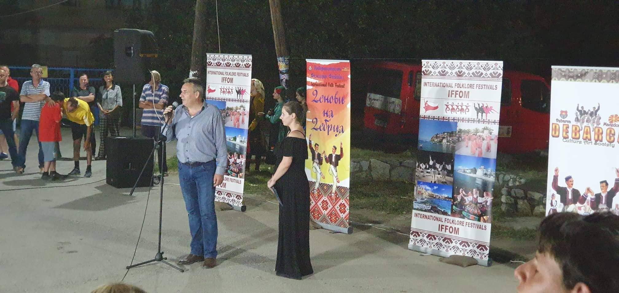 """Се одржа 8-иот Интернационален фолклорен фестивал """"Денови на Дебрца 2019""""."""