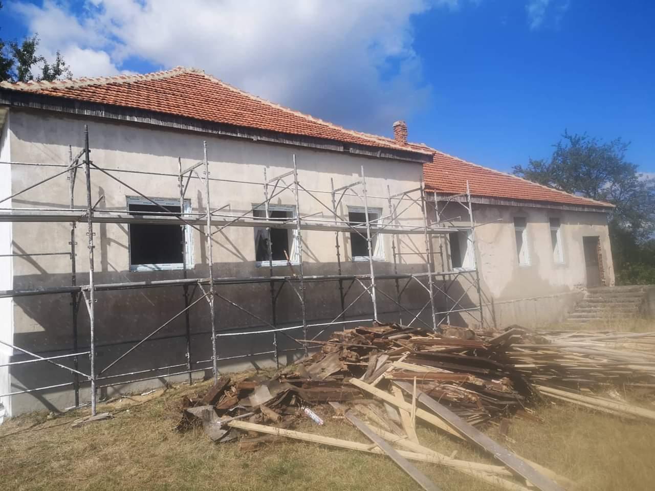 Започна санацијата на Спомен училиштето во село Црвена Вода