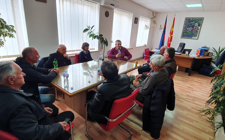 Градоначалникот Ногачески оствари средба со претставниците на Координативното тело, за еколошка револуција во Дебрца