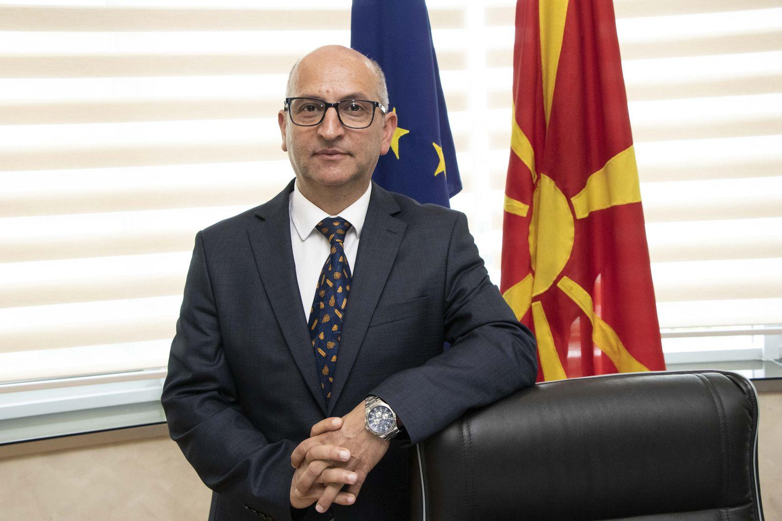 Министерот Трајан Димковски во официјална посета на општина Дебрца