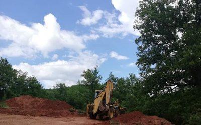 Официјално означен стартот за изградба на резервоар за водоснабдување на село Издеглавје и село Слатински Чифлик.