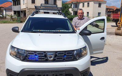 EU IPA MK-AL: Општина Дебрца се опреми со ново специјално теренско возило за спасување во зимски услови