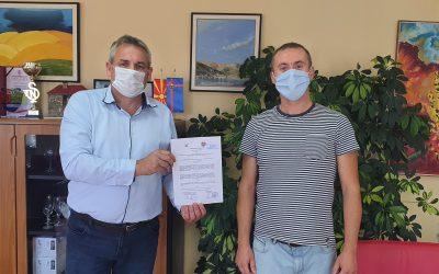 """Потпишан Меморандумот за соработка на проектот: """" Зачувување на Белчишко Блато со ангажирање на општина Дебрца и локални чинители"""