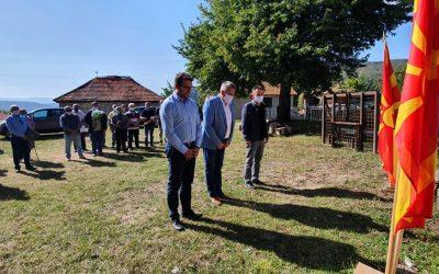 Во Црвена Вода одбежежан јубилејот 77-години од издавањето на Манифестот на АСНОМ на ГШ на НОВ и ПОМ и патронен празник на општина Дебрца