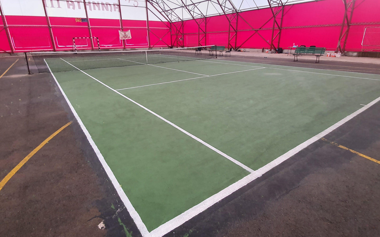 Општина Дебрца го доби првото тениско игралиште
